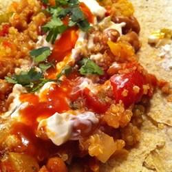 Warme quinoa rezepte