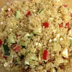 Quinoa salat dressing